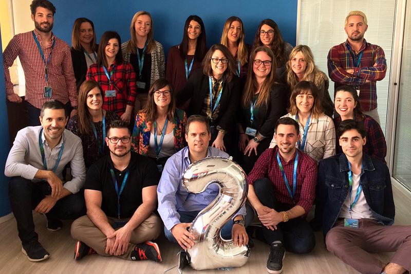 ROI UP Agency Alicante segundo aniversario