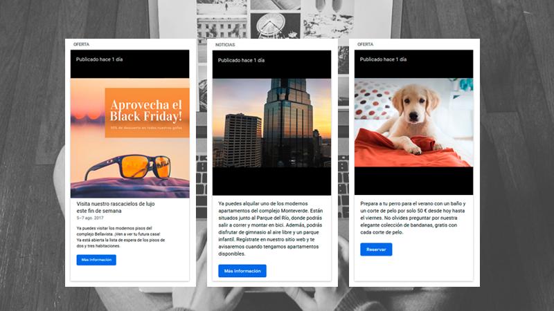 publicaciones ofertas google my business