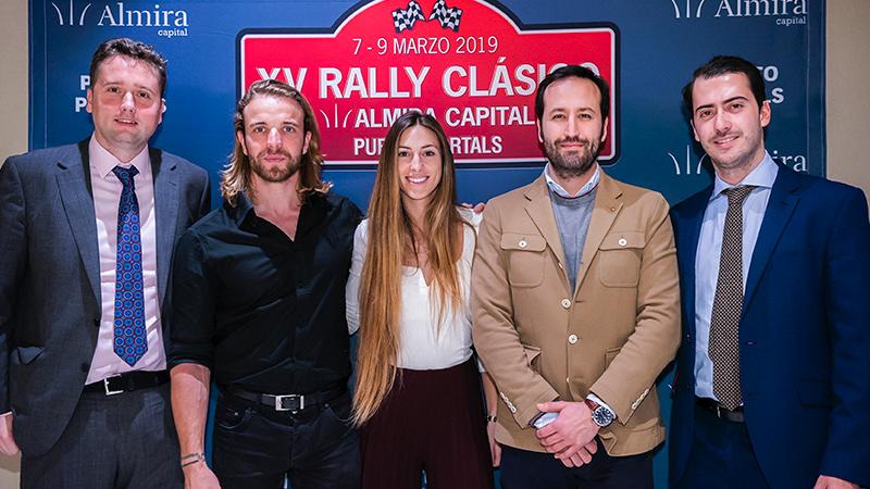 Rally Clásico XV Puerto Portals equipo